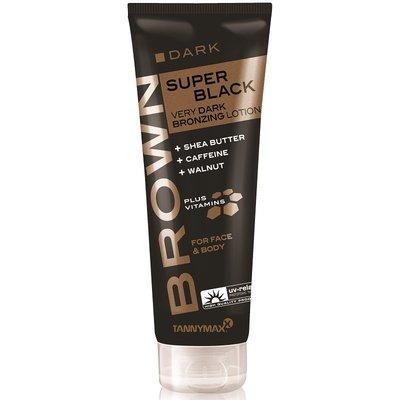 TANNYMAXX SUPER BLACK Very Dark BRONZING Lotion, 125ml