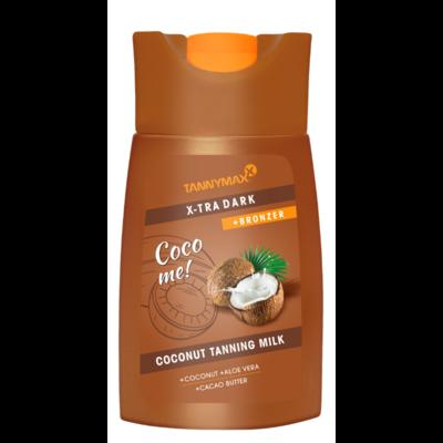 TANNYMAXX XTRA DARK Coconut Tanning Milk + BRONZER, 200ml