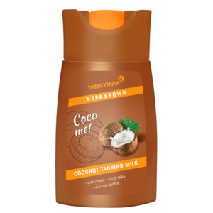 TANNYMAXX XTRA BROWN Coconut TANNING MILK, 200ml