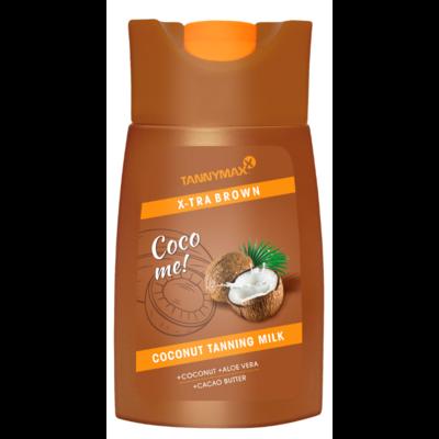 TANNYMAXX XTRA BROWN Coconut TANNING MILK, 200ml