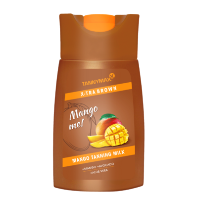 TANNYMAXX XTRA BROWN Mango TANNING MILK, 200ml