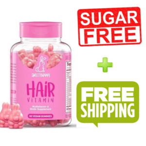 SweetBunnyHair Hair Vitamins - SUGAR FREE