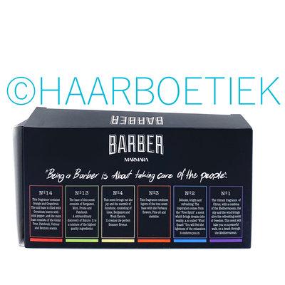 BARBER Barber Eau De Cologne 6 x 50ml Set