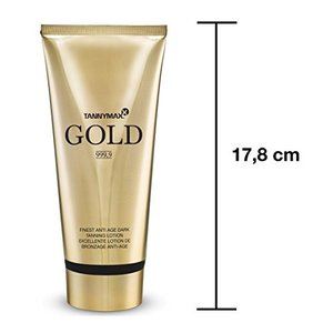 TANNYMAXX GOLD 999.9 Finest Anti Age TANNING LOTION, 200ml
