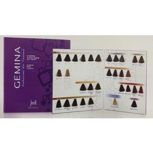 GEMINA Cream Hair Color Kleurenkaart