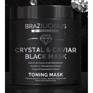 BraziliCious Anti-yellow Crystal & Caviar Mask 500 gr