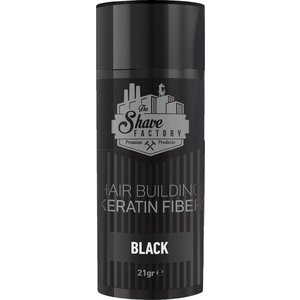 The Shave Factory Hair Building Fibers - 21gr - Black