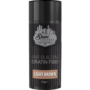 The Shave Factory Hair Building Fibers - 21gr - Light brown