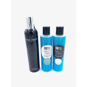 Marc Inbane Natural Tanning Spray, 200ml + Set Algae Shampoo / Conditioner