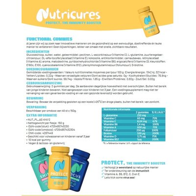 NUTRICURES Protect The Immunity Booster