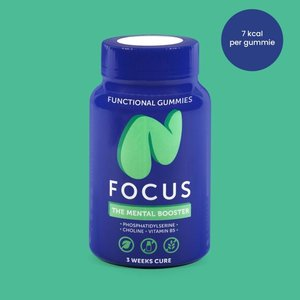 NUTRICURES Focus  The Mental Booster