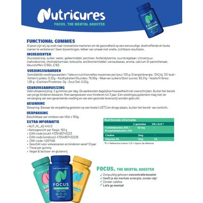 NUTRICURES 3 Pack = Focus - Shine - Protect