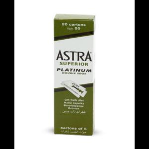 ASTRA Superior Platinum Double Edge Razor Blade, 20X5