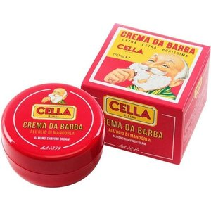 CELLA MILANO Shaving Cream 150ml Almond