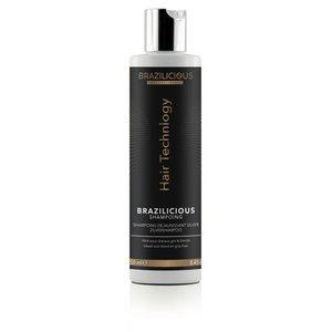 BRAZILICIOUS Silver Shampoo, 250ml