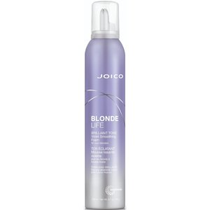JOICO Blonde Life Brilliant Tone Violet Smoothing Foam, 200 ml