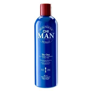 CHI MAN The One 3 in 1 Shampoo, Conditioner & Body Wash, 355ml