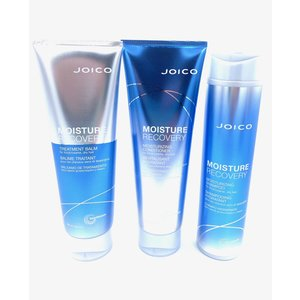 JOICO Moisture Recovery Shampoo, Conditioner, Balm Trio Package