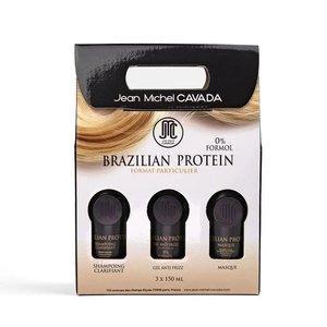 Jean Michel Cavada Brazillian Protein 3 x 150ml - 0% Formol