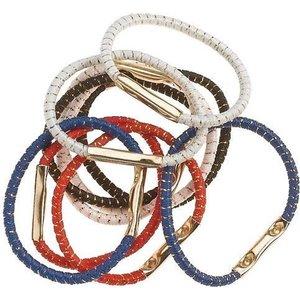 SIBEL Hair elastics 10 Pieces various colors