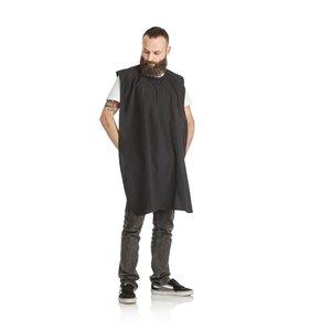 HBT Beard Hooded Coat - Soul Black