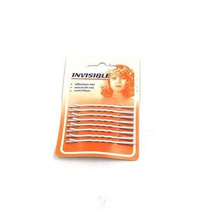 SIBEL Invisible - Haarschuifjes - Wit - Lang - 8 Stuks