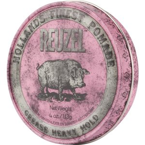 Reuzel Pig Pink Grease Heavy Hold Hair Wax - 113g