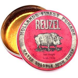 Reuzel Pomade Water Soluble High Sheen - Red 113 gr