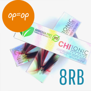 CHI SALES - Ionic Shine Hair Color Tube - 8RB