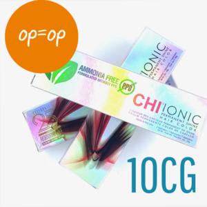 CHI SALES - Ionic Shine Hair Color Tube - 10CG