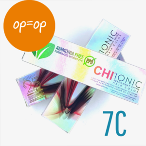 CHI SALES - Ionic Shine Hair Color Tube - 7C