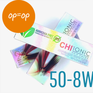CHI SALES - Ionic Shine Hair Color Tube - 50-8W