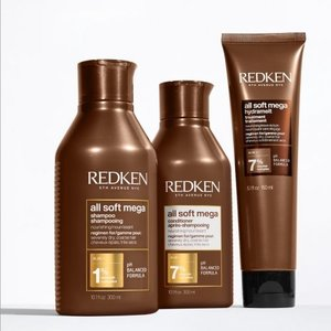 REDKEN All Soft Mega 3 x Product Pack