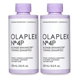 Olaplex duo pack no. 4P bond maintenance Shampoo Silver, 2 x 250ml