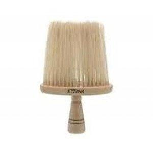 SIBEL Nekkwast Hout Wit Haar