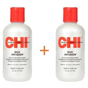 CHI Silk Infusion 177ml Duo Pack