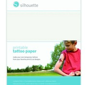 Silhouette Printable Temporary Tattoo Paper