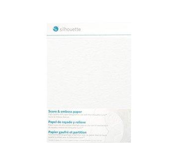 Silhouette Score & Emboss Paper (12.7cm x 17.7cm)