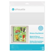 Silhouette Printable Window Cling Material:  Clear