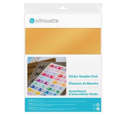 Silhouette Sticker Sampler Pack