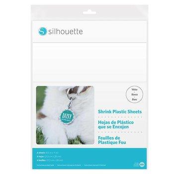 Silhouette Shrink Plastic Sheets - White
