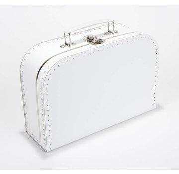 Koffer - 25 cm - Wit