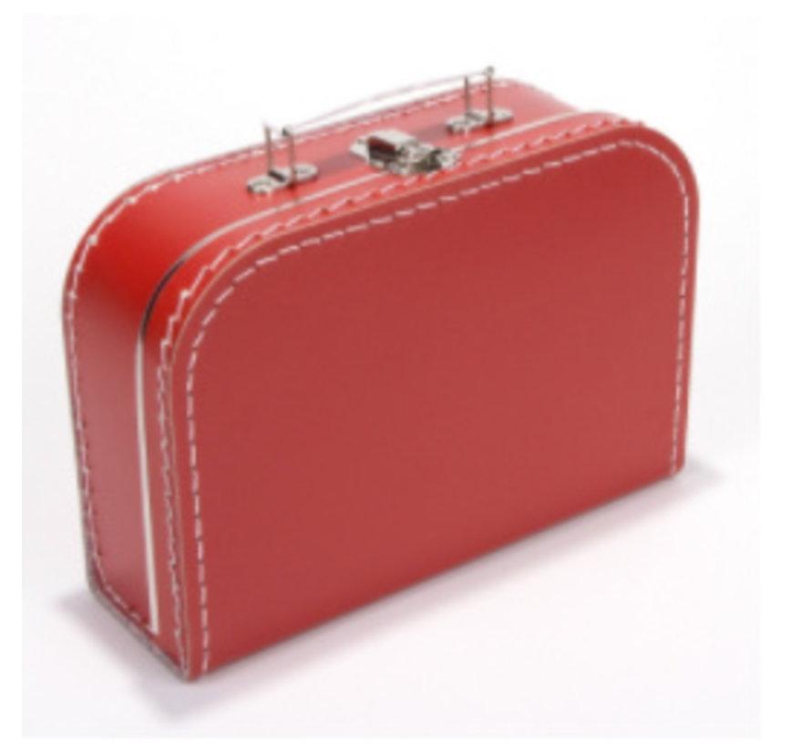 Koffer - 25 cm - Rood
