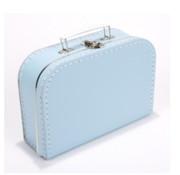 Koffer - midi effen - Babyblauw