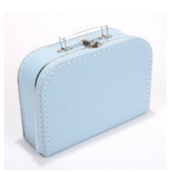 Koffer - 25 cm - Babyblauw