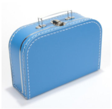 Koffer -25 cm - Aquablauw