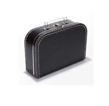 Koffer - 25 cm- Zwart
