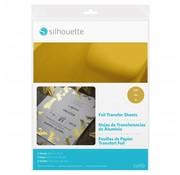 Silhouette Foil Transfer Sheets - Goud