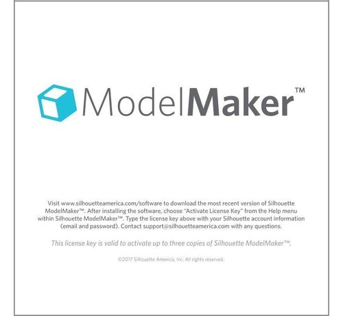 Silhouette Silhouette Model Maker (downloadcode)