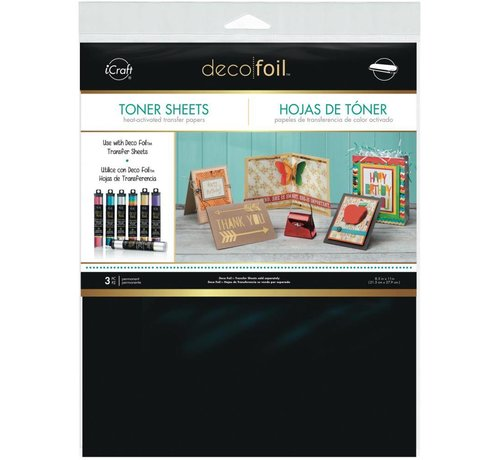 Deco Foil Toner sheets